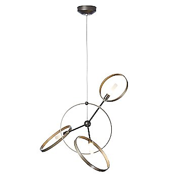 Shown in Black finish with Soft Gold Ring finish