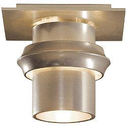 Twilight Small Outdoor Semi Flushmount (Gold) - OPEN BOX