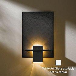 Aperture Wall Sconce - 217510 (Dark Smoke/White) - OPEN BOX
