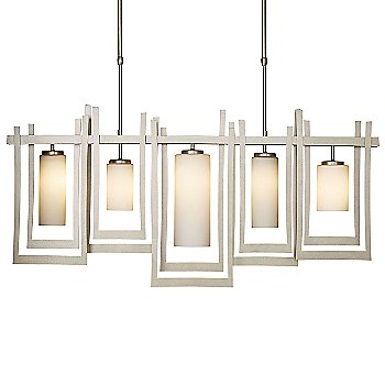 Shown in Soft Gold finish, Pearl Glass color