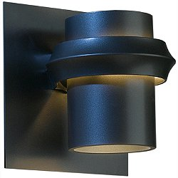 Twilight Outdoor Medium Wall Sconce (Black/Fluor) - OPEN BOX