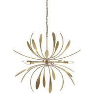 Bronze Sputnik Chandeliers
