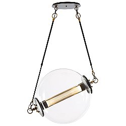 Otto Pendant Light (Clear with Frosted Glass/Short) - OPEN BOX RETURN