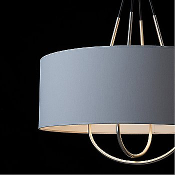 Shown in Black finish with Mediun Grey shade color