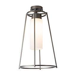 Loft Outdoor Semi-Flush Mount Ceiling Light