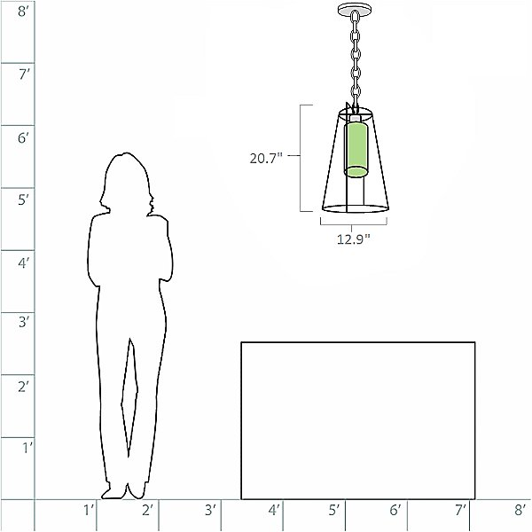 Loft Outdoor Pendant Light