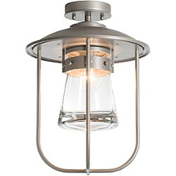 Erlenmeyer Outdoor Semi-Flush Mount Ceiling Light