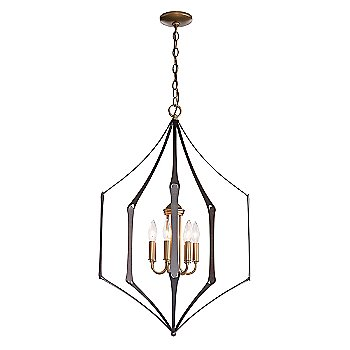 Shown in Black finish with Natural Iron Accent