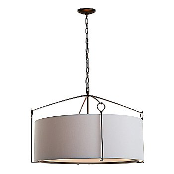 Shown in Light Grey shade with Bronze finish