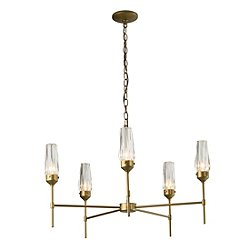 Luma 5 Arm Chandelier