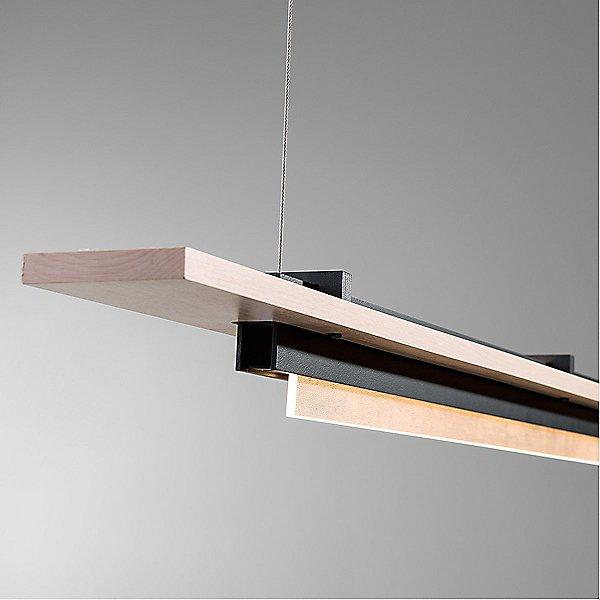 Plank LED Linear Suspension Light