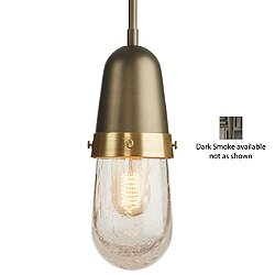 Fizz Mini Pendant Light (Dark Smoke/Long) - OPEN BOX RETURN