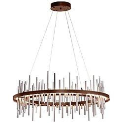 Cityscape Circular LED Pendant Light