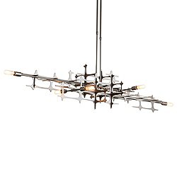Grid Linear Suspension Light
