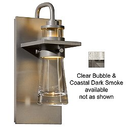 Erlenmeyer Outdoor Wall Sconce (Clear/Smoke/Med) - OPEN BOX