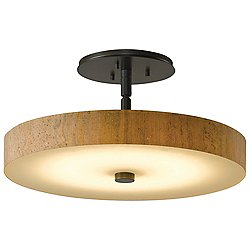 Disq LED Semi-Flushmount (Bronze/Large) - OPEN BOX RETURN