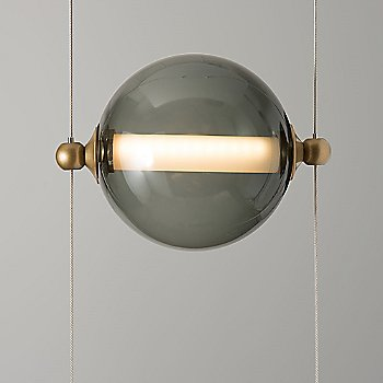 Cool Grey Glass Shade color / detail view