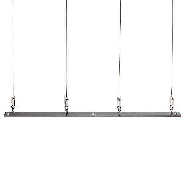 Abacus Floor to Ceiling LED Linear Suspension Light