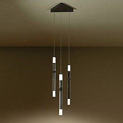 Helix 3 Light LED Pendant Light (Bronze) - OPEN BOX RETURN