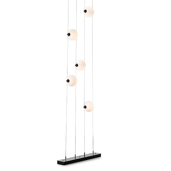 Abacus Floor to Ceiling Plug-In LED Lamp