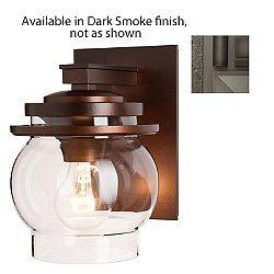 Bay Outdoor Wall Sconce (Clear/Dark Smoke/S)-OPEN BOX RETURN