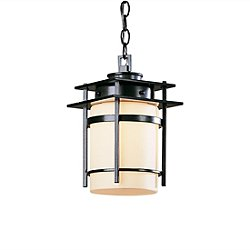 Banded Outdoor Pendant Light