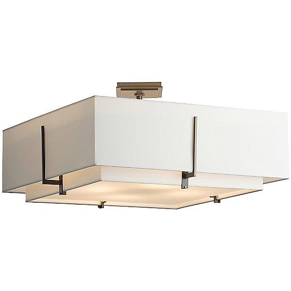 Exos Large Square Semi-Flush Mount Ceiling Light