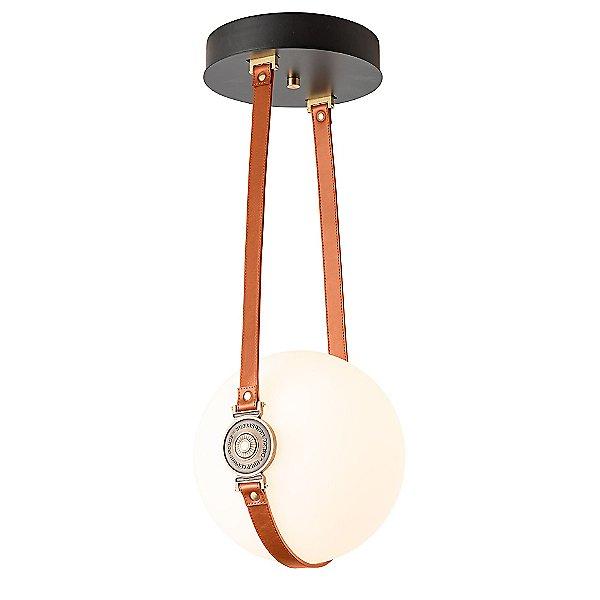 Derby LED Semi-Flush Mount Ceiling Light