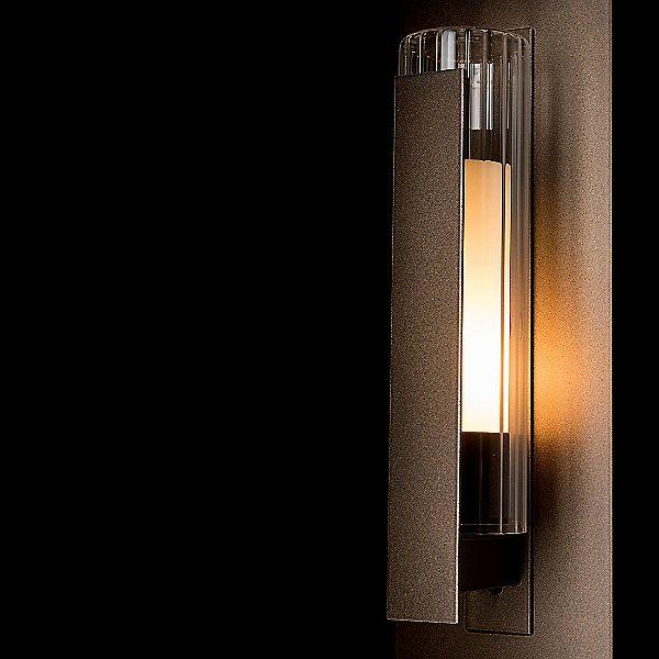 Vertical Bar Fluted Outdoor Wall Light