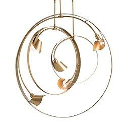 Orion 3-Pipe Triple Pendant Light