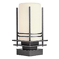 Pier Mount Only for Post Lights (Coastal Black) - OPEN BOX RETURN