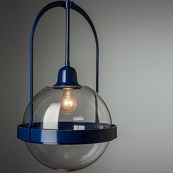 Atlas Glass Navy Pendant Lighting