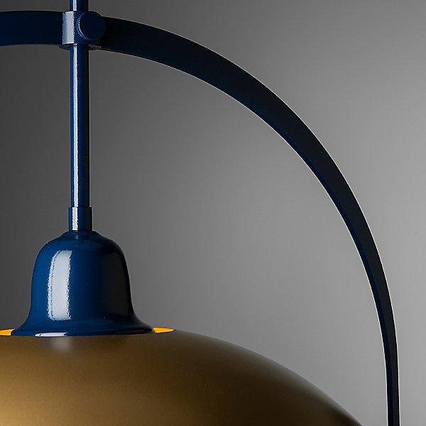 Atlas Dome Navy Pendant Light