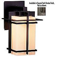Tourou Outdoor Wall Sconce (Opal/Dark Smoke/L/LED)-OPEN BOX