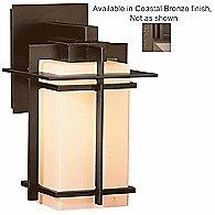 Tourou Wall Sconce (Opal/Bronze/Med/Incand)-OPEN BOX RETURN