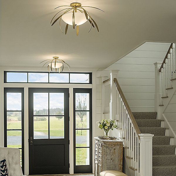 Dahlia Semi-Flush Mount Ceiling Light
