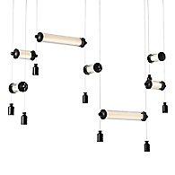 Libra Double LED Linear Suspension Light