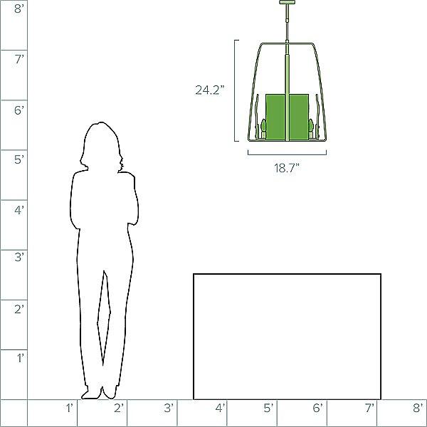 Arc Pendant Light