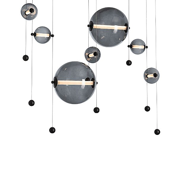 Abacus Double LED Linear Suspension Light