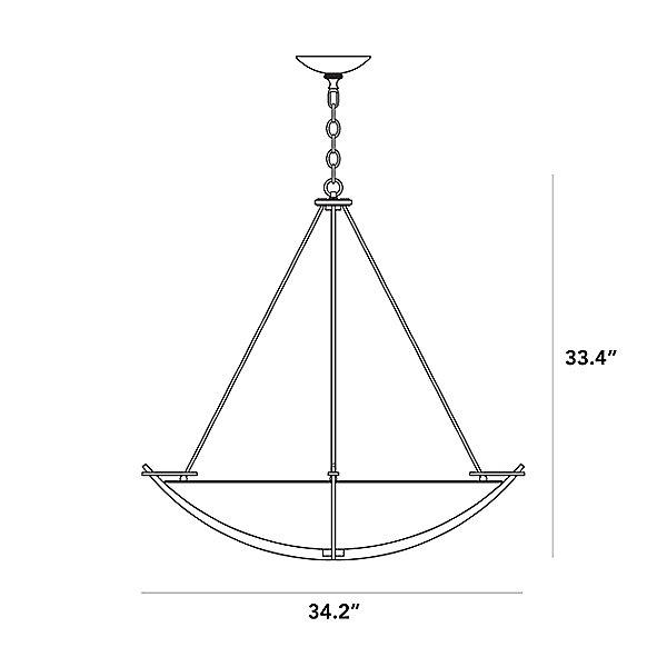Compass 194531 Large Scale Pendant Light