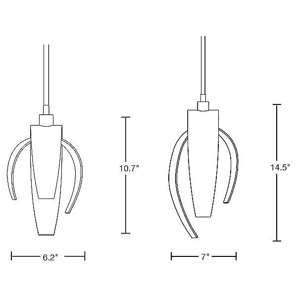 Corona Mini Pendant Light