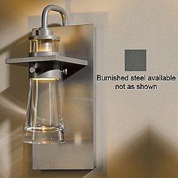Erlenmeyer Wall Sconce (Clear Bubble/Steel/S) - OPEN BOX