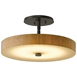 Disq LED Semi Flush Ceiling Light