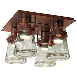 Erlenmeyer 4 Light Flush Mount Ceiling Light