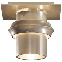 Twilight Vintage Platinum Flush Mount Ceiling Light