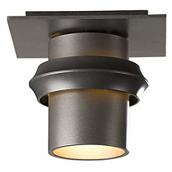 Twilight Outdoor Semi Flush Small Ceiling Light