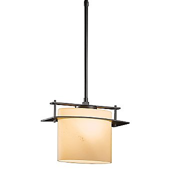 Shown in Dark Smoke finish with Pearl glass color, Standard Length