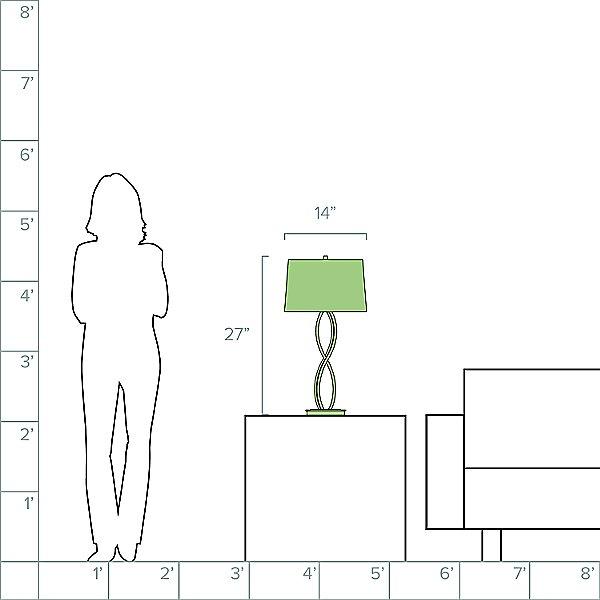 Almost Infinity Medium Table Lamp