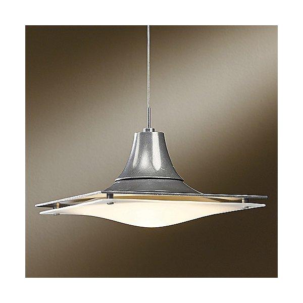 Hood Vintage Platinum Low Voltage Pendant Light