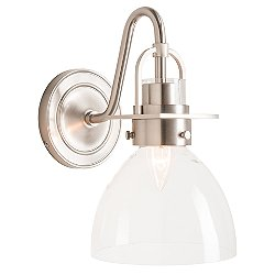 Castleton 1 Light Domed Wall Sconce